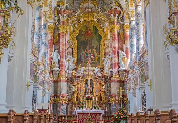 ドイツの世界遺産「ヴィースの巡礼教会」
