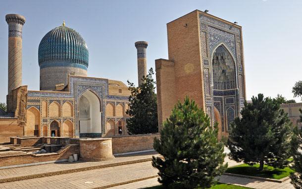 世界遺産「サマルカンド-文化交差路(ウズベキスタン)」、グーリ・アミール廟