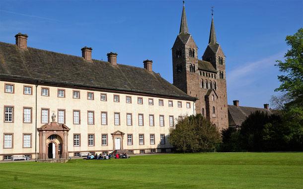 世界遺産「コルヴァイのカロリング朝ヴェストヴェルクとキヴィタス(ドイツ)」、旧コルヴァイ修道院教会のウェストワーク