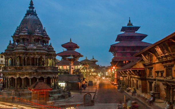 世界遺産「カトマンズの谷(ネパール)」、パタンのダルバール広場