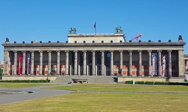 ドイツの世界遺産「ベルリンのムゼウムスインゼル[博物館島]」の旧博物館