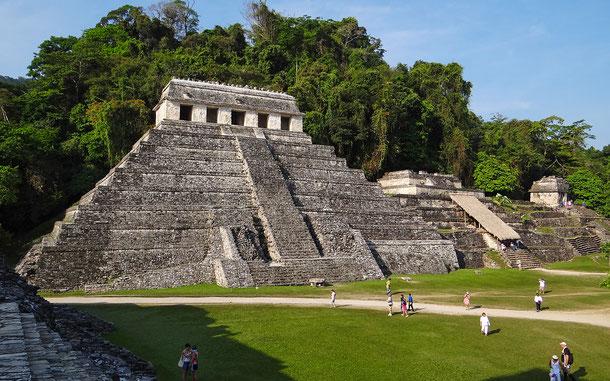世界遺産「古代都市パレンケと国立公園(メキシコ)」、碑文の神殿