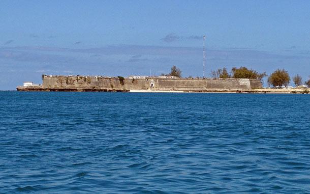 世界遺産「モザンビーク島(モザンビーク)」、サン・セバスティアン要塞
