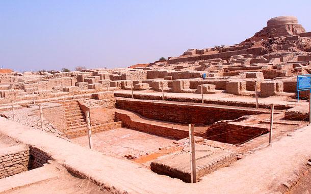 世界遺産「モヘンジョダロの遺跡群(パキスタン)」の城塞地区