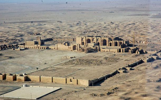 イラクの世界遺産「ハトラ」