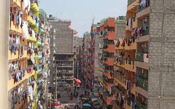ナイロビの裏通り