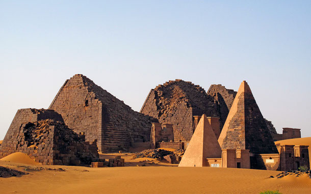 世界遺産「メロエ島の古代遺跡群」