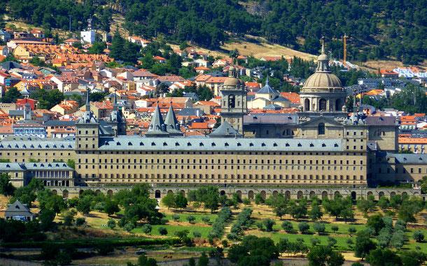 世界遺産「マドリードのエル・エスコリアルの修道院と王領地(スペイン)」