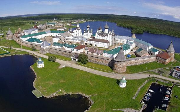 世界遺産「ソロヴェツキー諸島の文化と歴史遺産群(ロシア)」、ソロヴェツキー修道院
