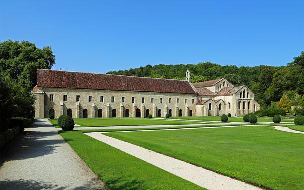 フランスの世界遺産「フォントネーのシトー会修道院」