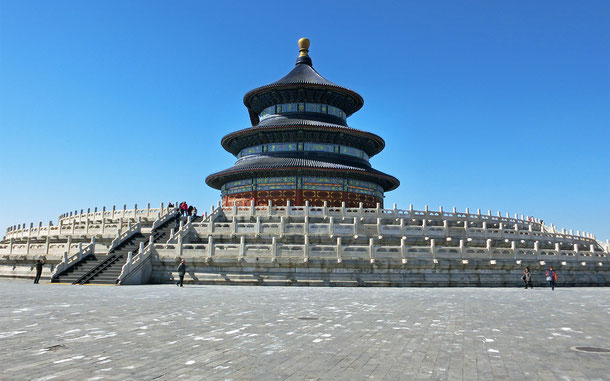 世界遺産「天壇:北京の皇帝の廟壇(中国)」、天壇公園の祈年殿