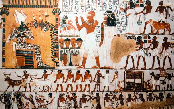 世界遺産「古代都市テーベとその墓地遺跡(エジプト)」、王家の谷