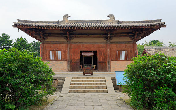 世界遺産「五台山(中国)」、南禅寺・大殿