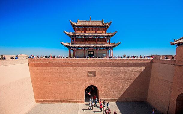 世界遺産「万里の長城(中国)」、嘉峪関