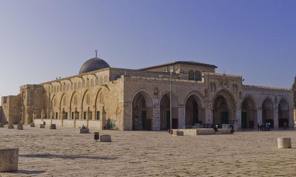世界遺産「エルサレムの旧市街とその城壁群(ヨルダン申請)」、アル・アクサ・モスク