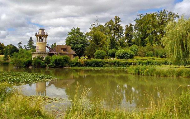 マリー・アントワネットが愛した農村庭園ル・アモー