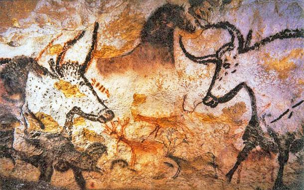 世界遺産「ヴェゼール渓谷の先史時代史跡群と洞窟壁画群(フランス)」、ラスコー洞窟