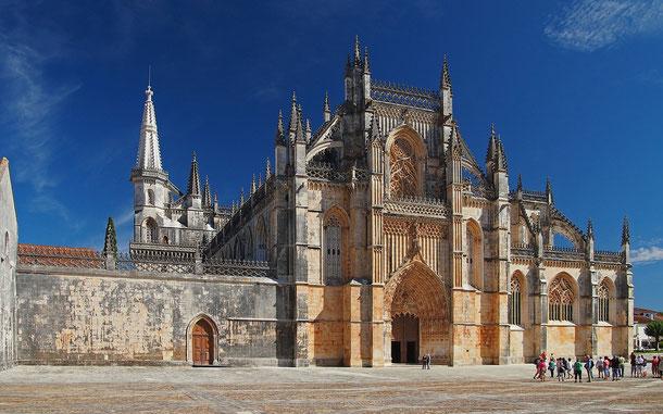 世界遺産「バターリャ修道院(ポルトガル)」
