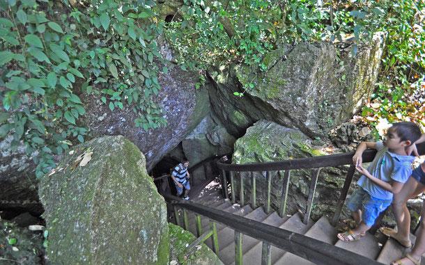 「天国の洞窟」ティエンドゥオン洞窟/パラダイス・ケイブのエントランス