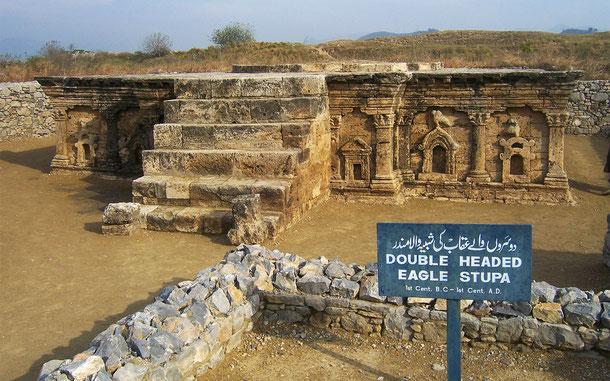 パキスタンの世界遺産「タキシラ」