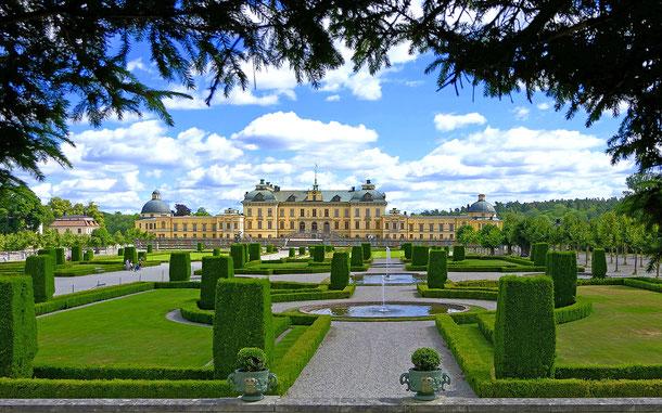 世界遺産「ドロットニングホルムの王領地(スウェーデン)」、ドロットニングホルム宮殿