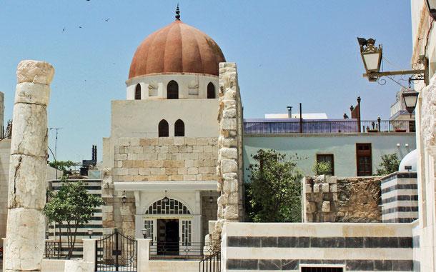 世界遺産「古都ダマスカス(シリア)」、サラディン廟
