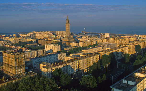 世界遺産「ル・アーヴル、オーギュスト・ペレによる再建都市(フランス)」