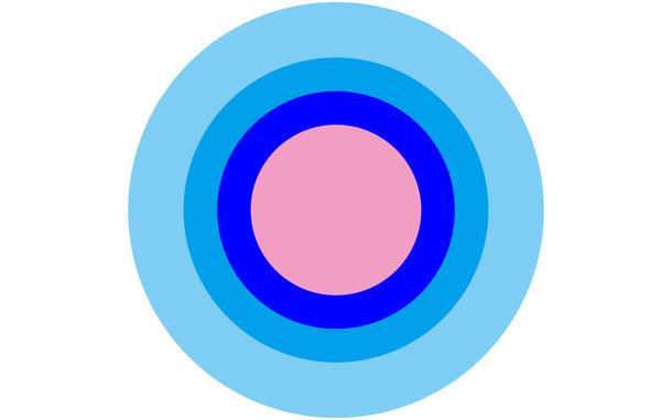 集中式(有心式)の例