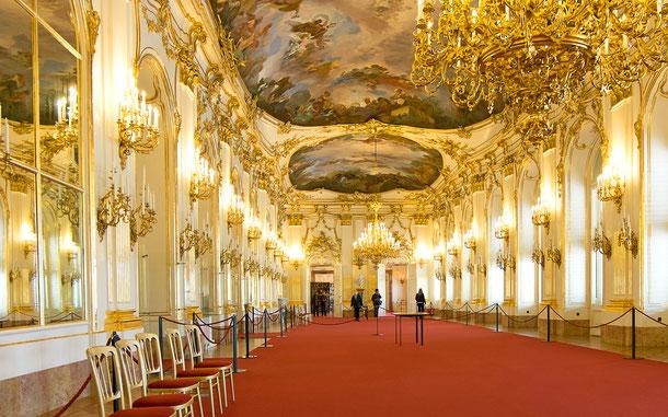 世界遺産「シェーンブルン宮殿と庭園群(オーストリア)」、グローセ・ギャラリー