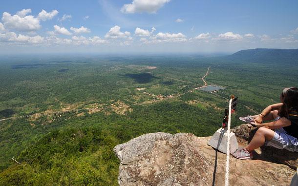 カンボジアの世界遺産「プレア・ヴィヘア寺院」