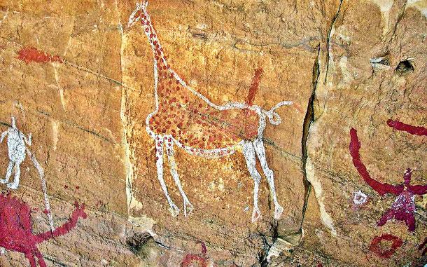 リビアの世界遺産「タドラット・アカクスのロックアート遺跡群」