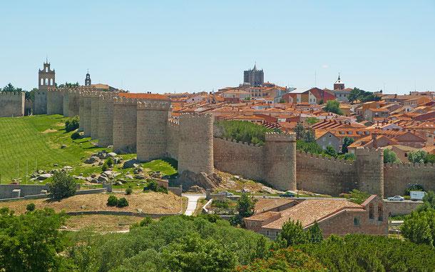 世界遺産「アビラの旧市街と城壁外の教会群(スペイン)」