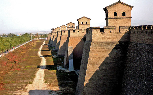 世界遺産「古都平遥(中国)」、城郭都市・平遥の市壁