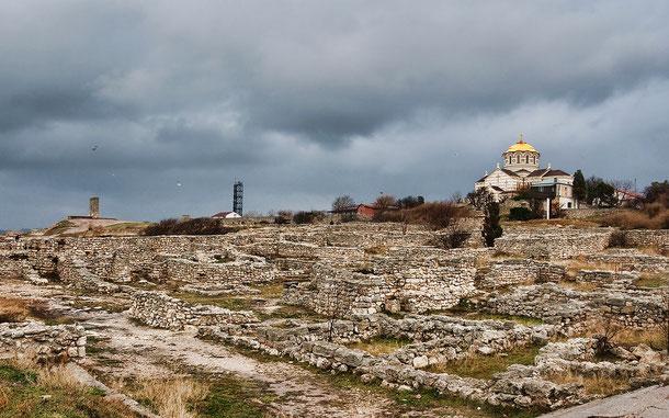 世界遺産「古代都市[タウリカのヘルソネソス]とそのホーラ」、ケルソネソスの聖ウラジーミル大聖堂