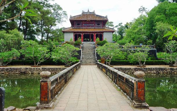 世界遺産「フエの建造物群(ベトナム)」、ミンマン帝廟