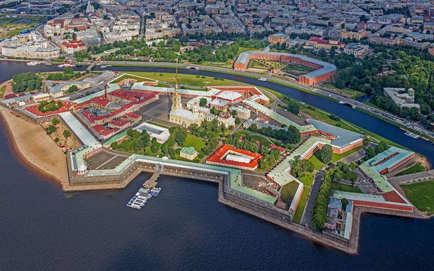 世界遺産「サンクトペテルブルク歴史地区と関連建造物群」、ペトロパヴロフスク要塞