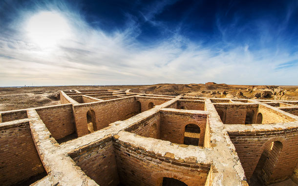 世界遺産「南イラクのアフワール:生物の避難所と古代メソポタミア都市景観の残影(イラク)」、ウルの遺跡