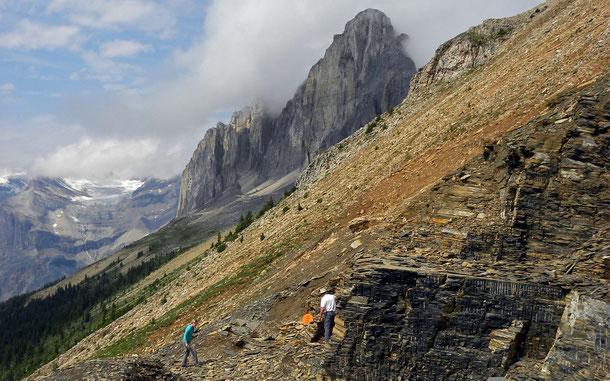世界遺産「カナディアン・ロッキー山脈自然公園群(カナダ)」、バージェス頁岩地帯