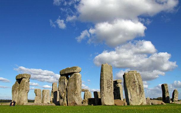 イギリスの世界遺産「ストーン・ヘンジ、エーヴベリーと関連する遺跡群」のストーン・ヘンジ