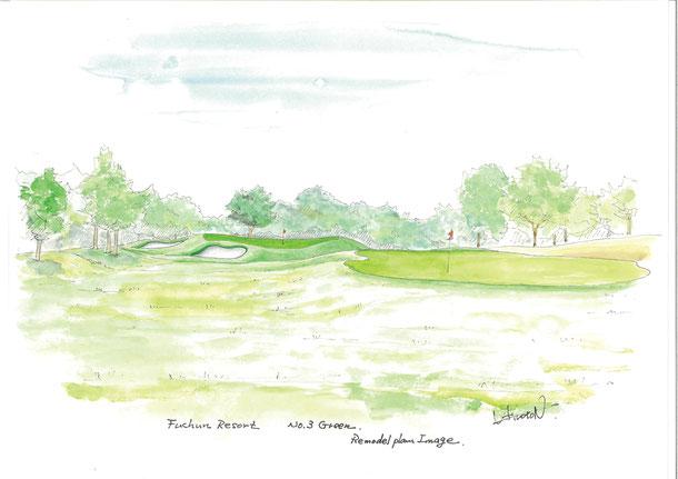 Fuchun Golf Resort     in China      改造イメージ