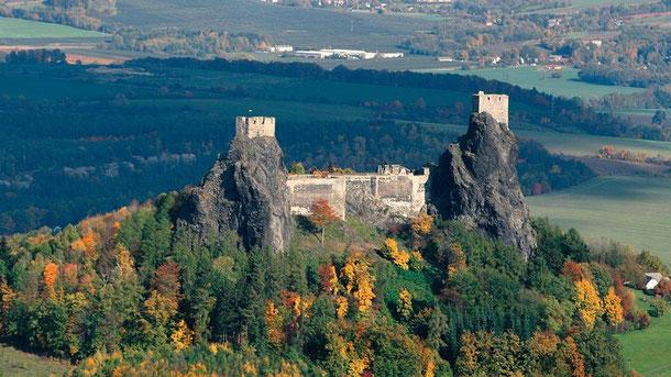 Castillos y Balnearios de Bohemia y Moravia