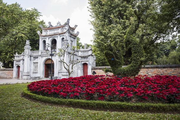 Hanoi ist die Hauptstadt der sozialistischen Republik Vietnam