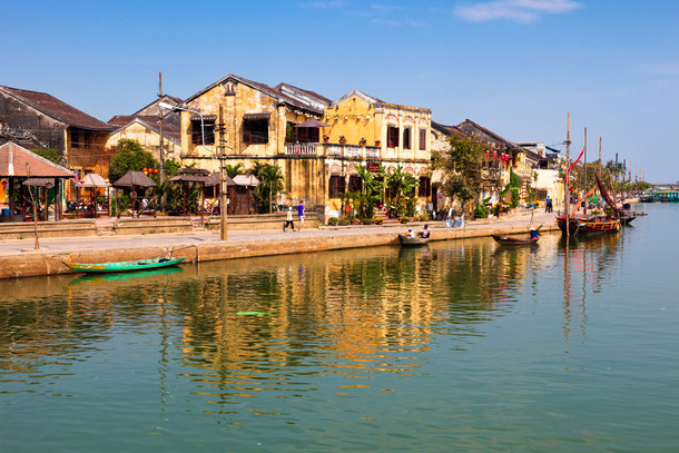Auch ein Badeurlaub ist in der Nähe von Hoi An möglich. Der Cu Beach und An Bang Beach laden zum schwimmen ein