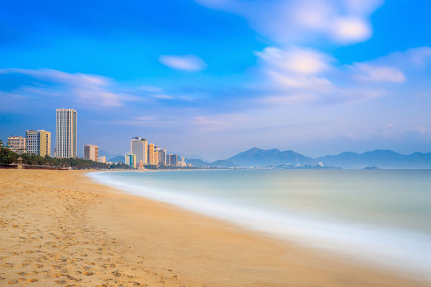 Nha Trang liegt in Zentralvietnam und ist ein beliebter Badeort