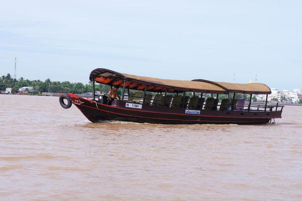 Vinh Long ist die Hauptstadt der gleichnamigen Provinz. Da die Stadt am Mekong Fluss liegt sollte man die Gegend am besten per Boot erkunden.