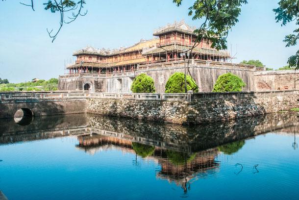 Die alte Kaiserstadt Hue war bis ins Jahr 1946 die Hauptstadt von Südvietnam