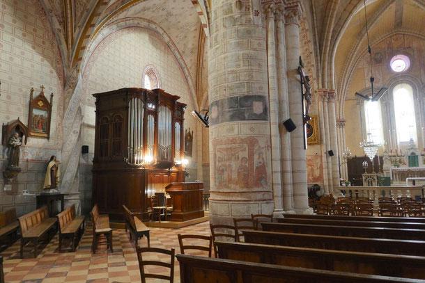 L'Orgue de Charles Gounod en l'Eglise Saint-Pierre de La Sauve-Majeure