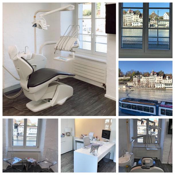 Zahnaufhellung praxis Zahnarzt/Dentalhygienikerin