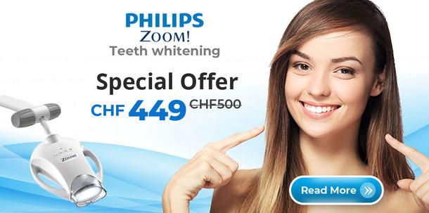 Philips Zoom Teeth Whitening Bleaching