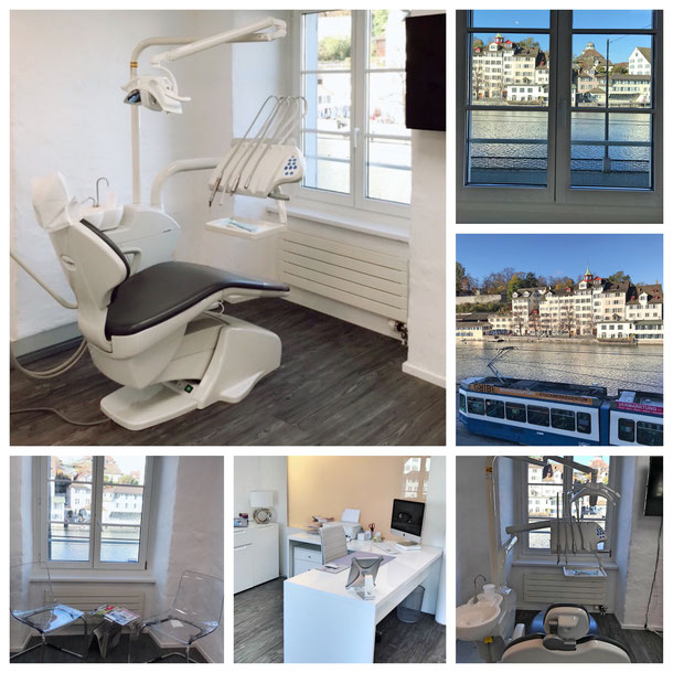 Teeth whitening and cleaning practice in Zurich